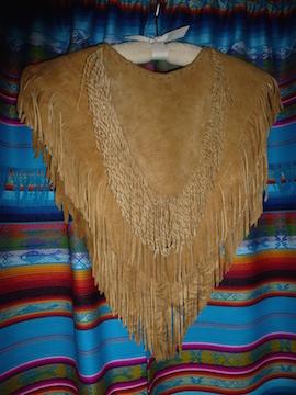buckskin vestment