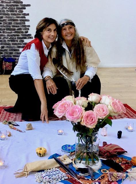 Sister Claire at Paris workshop