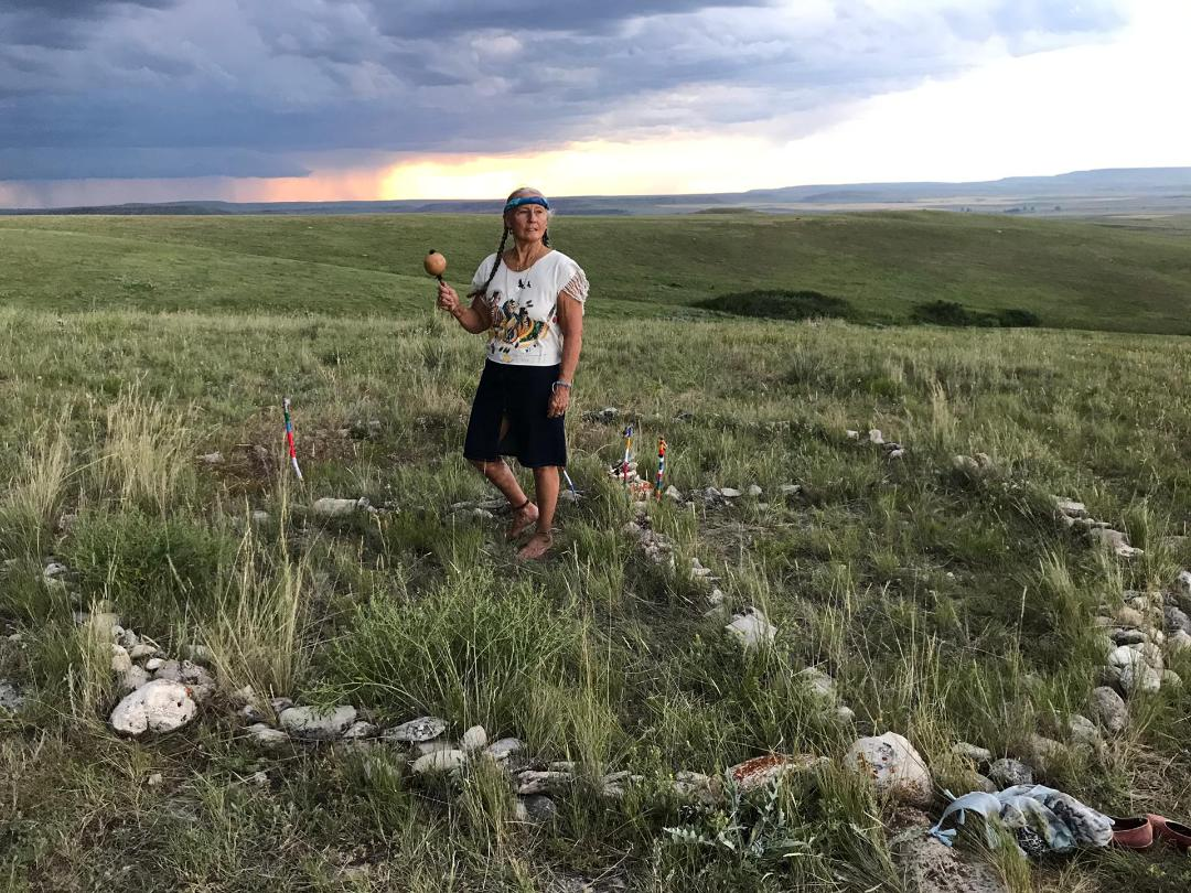 Brooke at Sacred Ground International in Montana July 2019