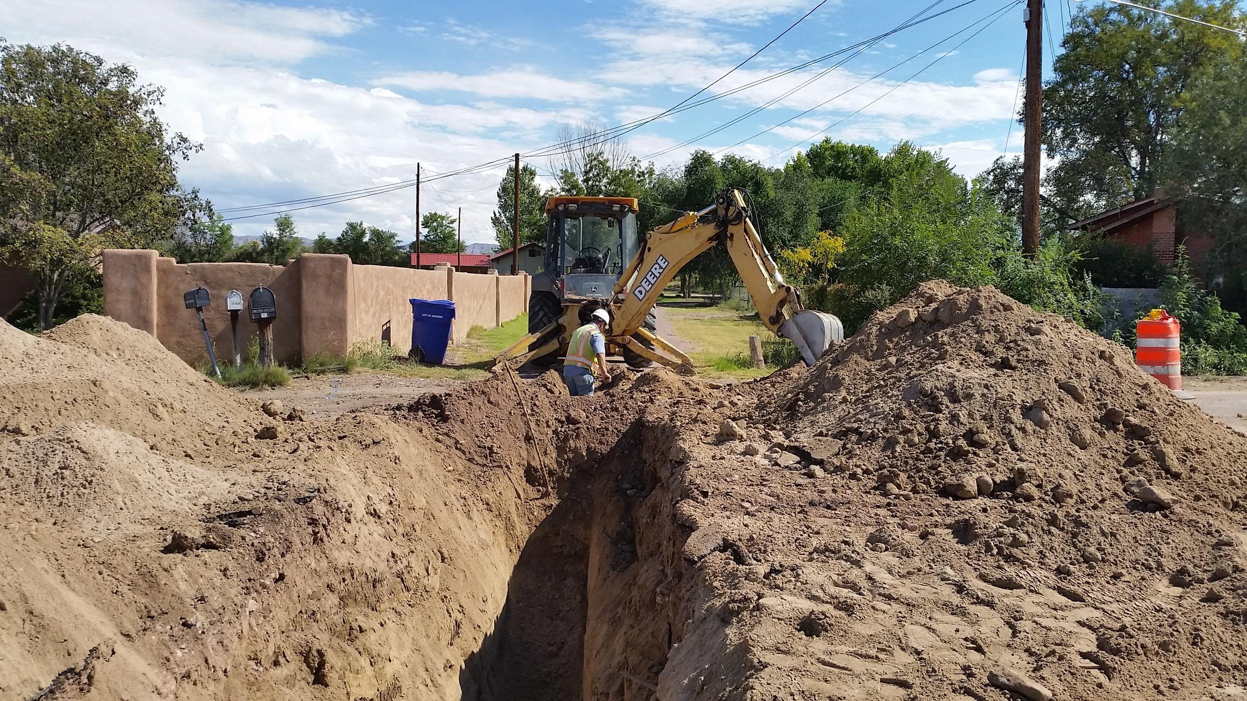 Socorro, NM 6-mile Wastewater Expansion