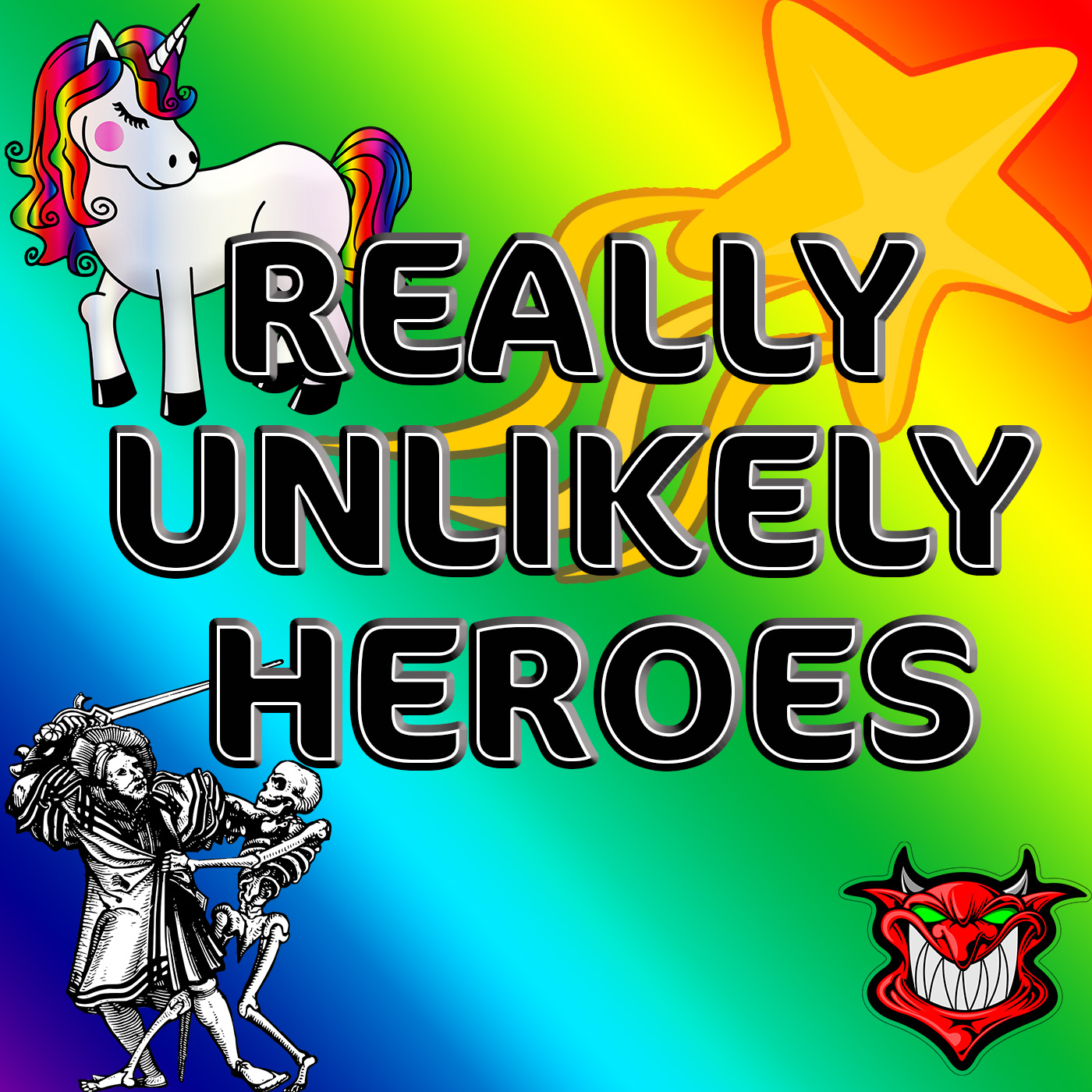 Really Unlikely Heroes - The story of 3 adventurers who have no idea what they are doing or if they can last long enough to actually accomplish anything.