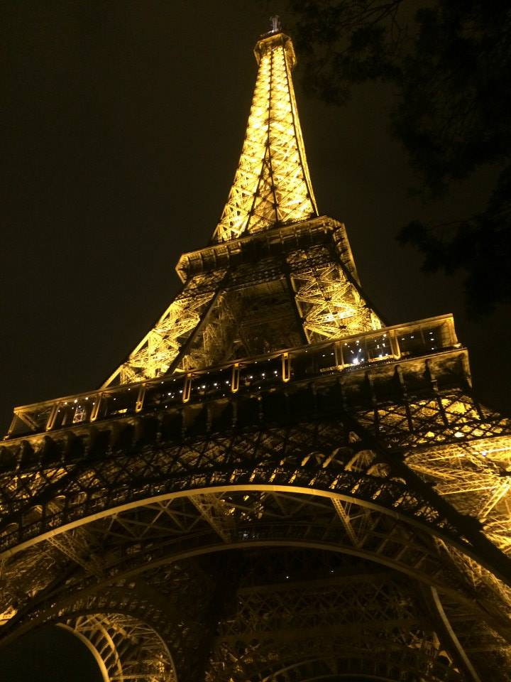 Cant beat the Eiffel Tower at Night