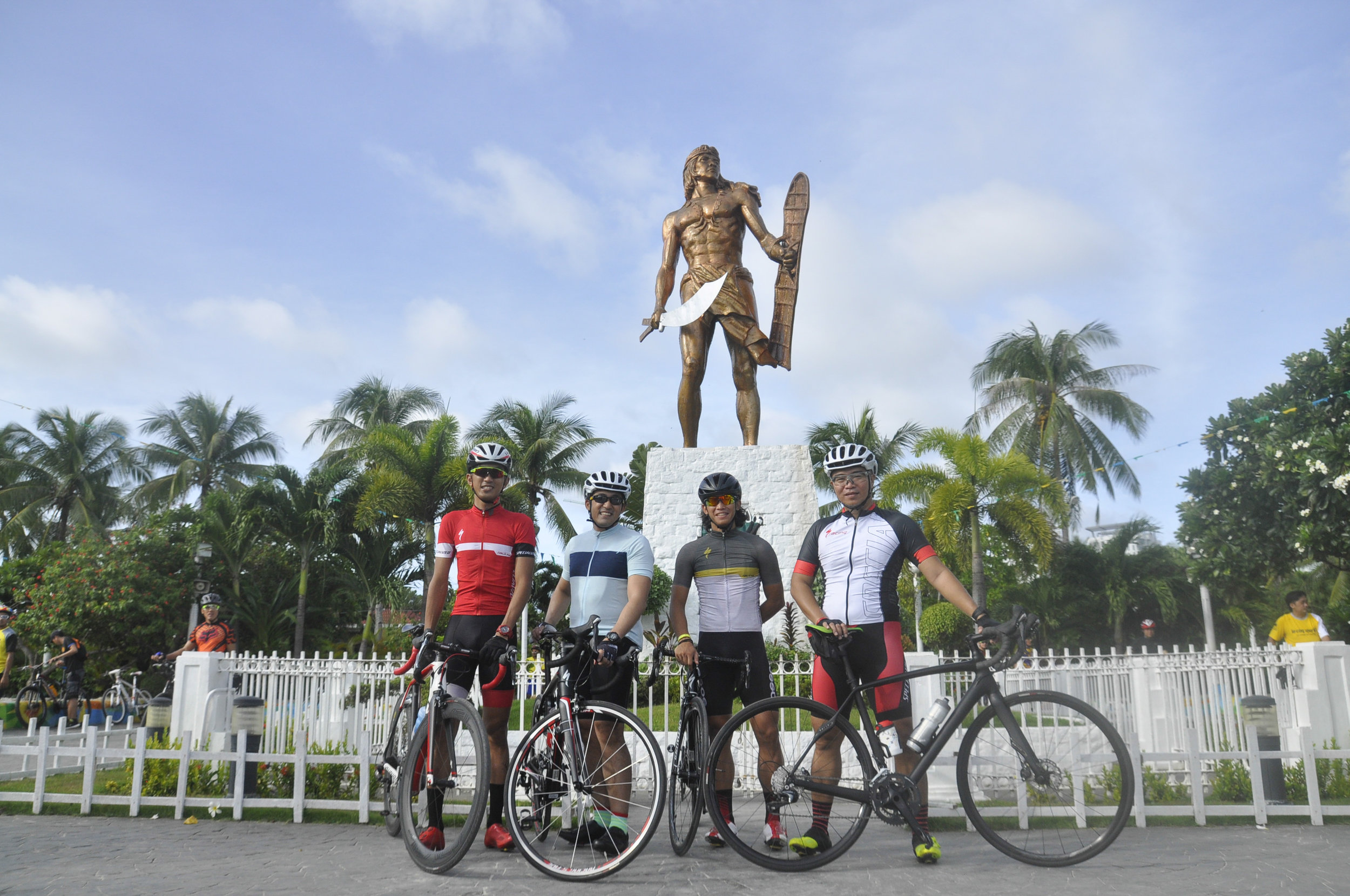 Nino Surban, Gelo Serrano, Jami Ramirez and Jiggs Samson