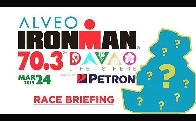 Guess what? We made the Race Briefing extra extra!!! Someone special is taking you through the ALVEO Ironman 70.3 Davao Race Briefing tomorrow! Davao loves him, Hugh Jackman is his chatmate, even Aquaman said he nailed it! I wonder who it is? Watch tomorrow (Saturday) here 4:30pm! #trilifemagazine #im703davao #im703 #triathlon #davao #sbr #ironman703davao