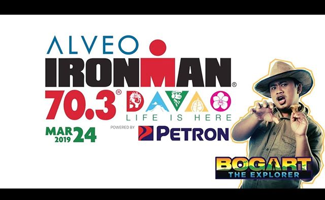 """This is our EXTRA EXTRA!!! Davao's home-grown wildlife expert, Bogart the Explorer is taking you through the ALVEO Ironman 70.3 Davao Race Briefing! Yes, he will guide the pecuuuliar creature called """"triathletes"""" to have a fun and safe race on March 24 in Davao City Ph. This video is produced by TriLife Magazine for Sunrise Events & Ironman 70.3 Davao. Watch here!!! https://youtu.be/hkMaBAfOJlY #im703davao #ironman #triathlon #davao #bogarttheexplorer"""