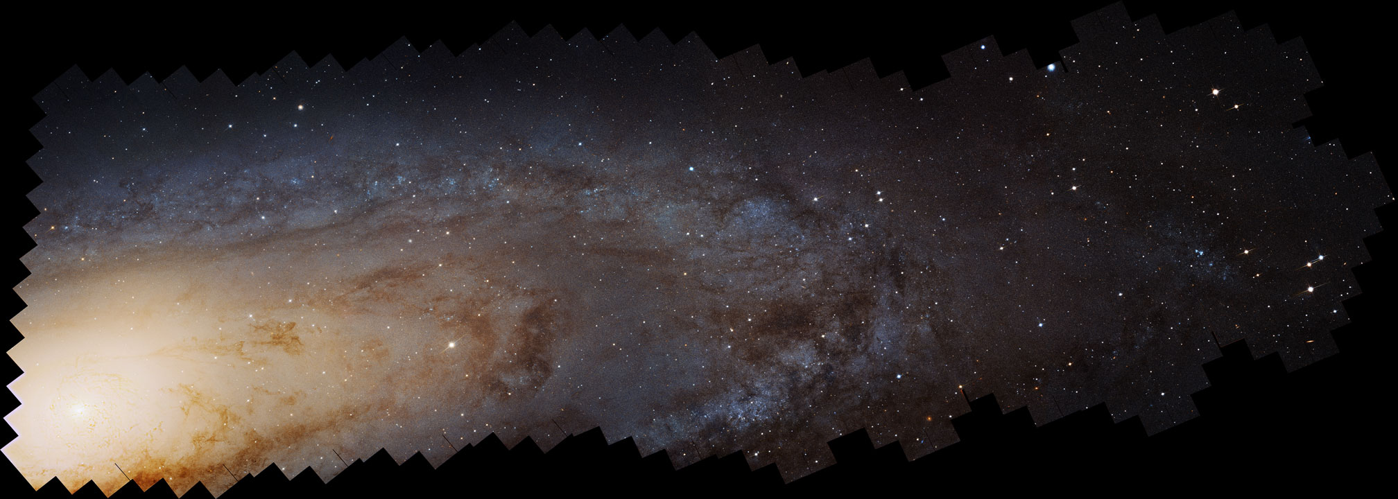 100 Million Stars in the Andromeda Galaxy | Image Credit:  NASA ,  ESA ,  J. Dalcanton , B. F. Williams, L. C. Johnson ( U. Washington ),  PHAT team ,  R. Gendler