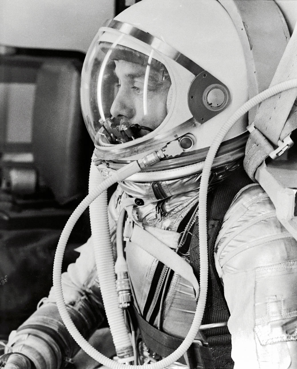 Alan Shepard, Project Mercury.