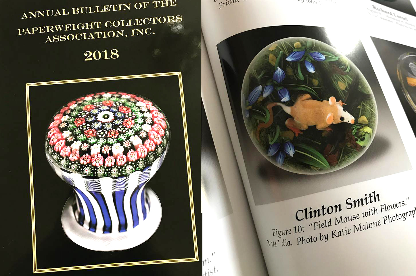 2018 Paperweight Collector's Association Bulletin 2018