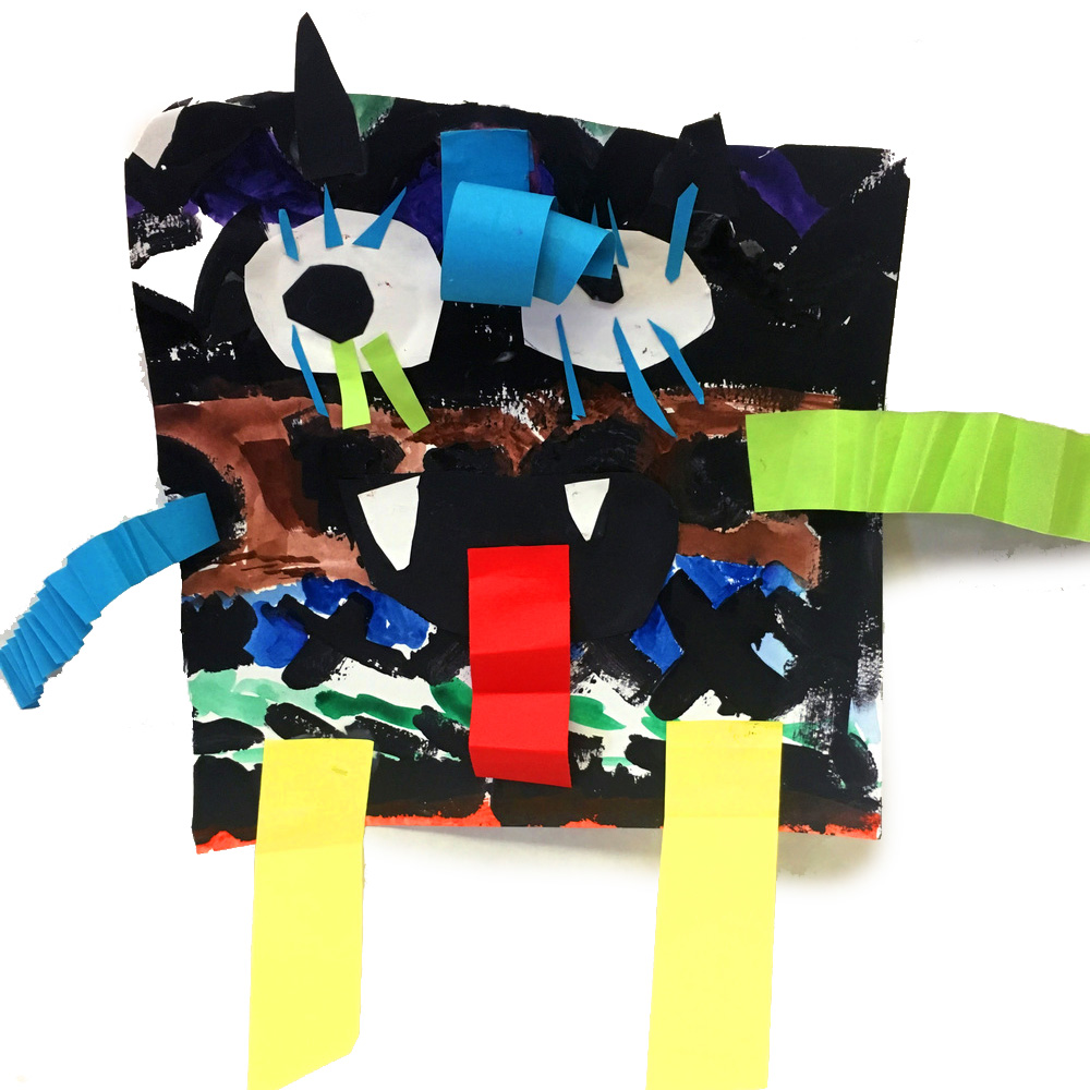 Kindergarten Line Monsters