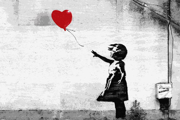 British Graffiti Artist Banksy