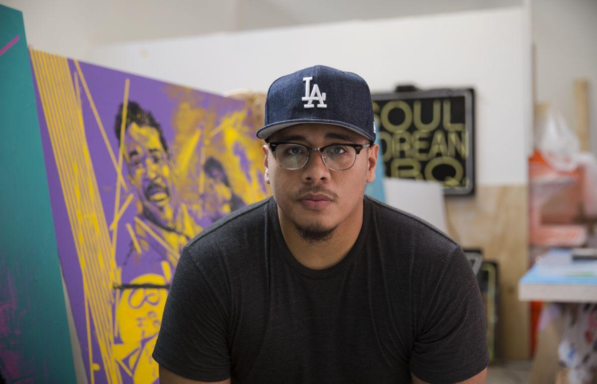 LA Mixed Media Artist Patrick Martinez