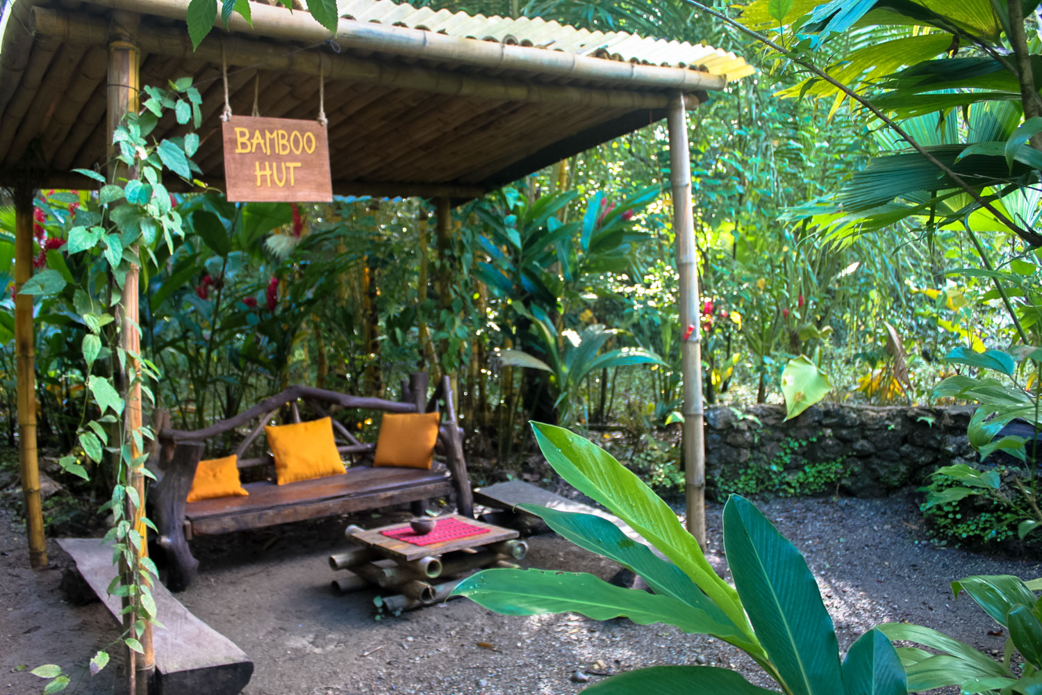 "The ""smoker's lounge"" in my river hostel. Hotelito Perdido - Rio Dulce, Guatemala"