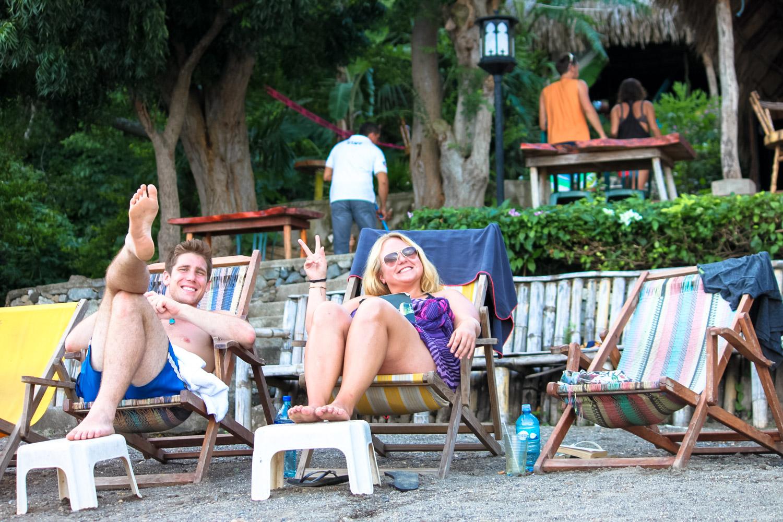 paradiso hostel in laguna de apoyo