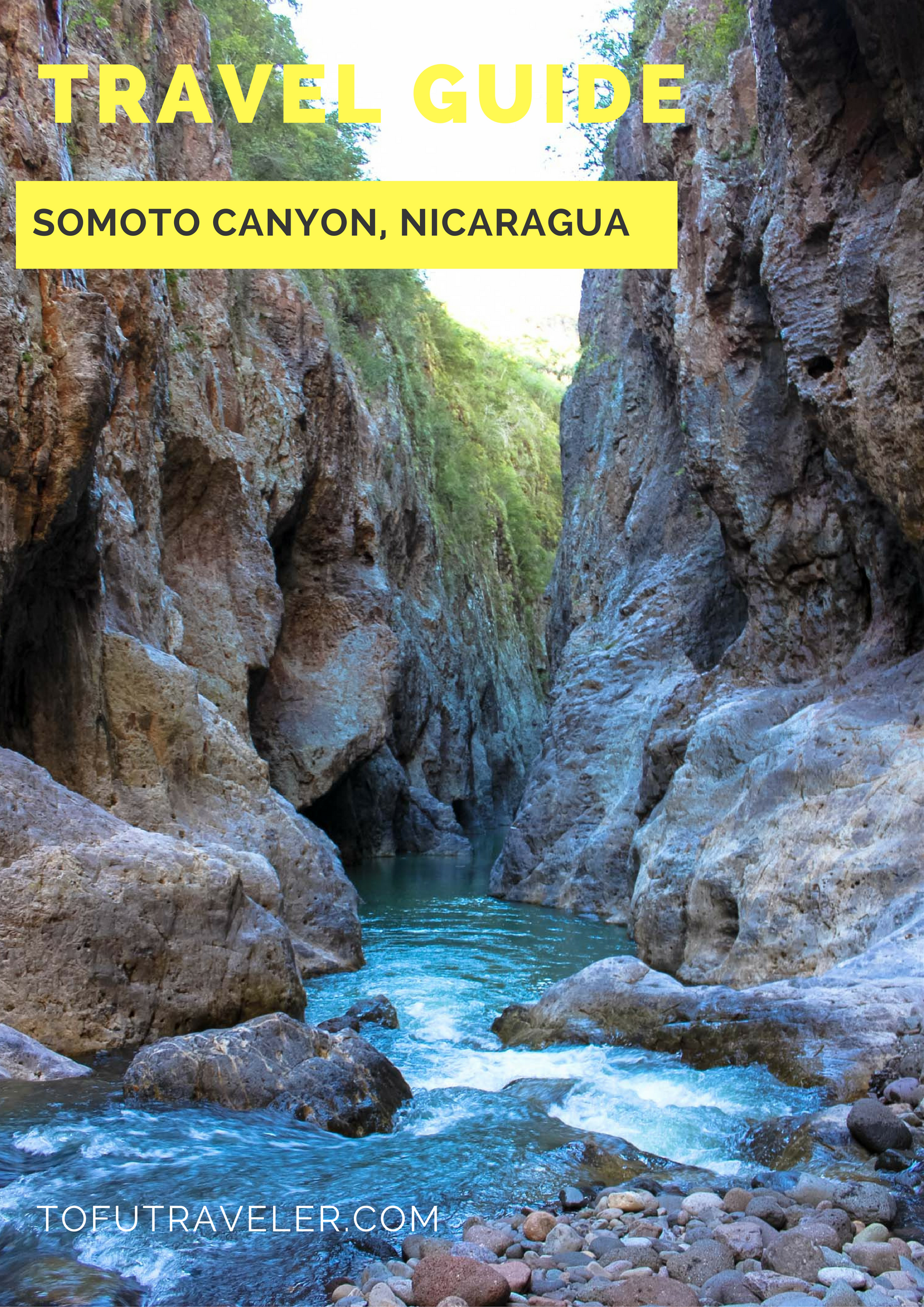 Somoto Canyon Pinterest