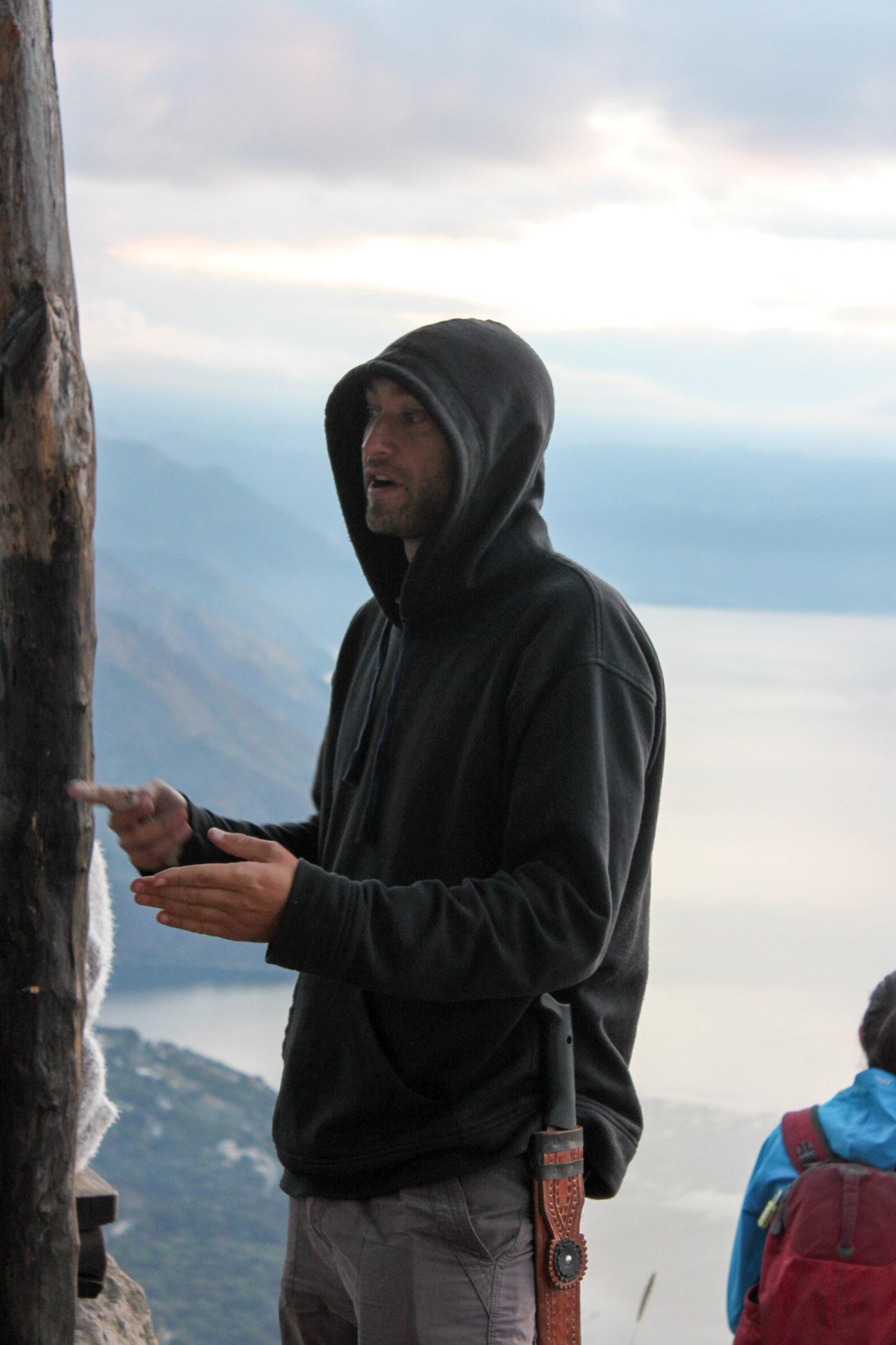 Indian's Nose Hike - Lake Atitlan