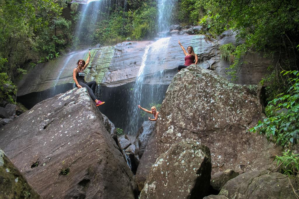 Waterfall fun in Northern Drakensberg