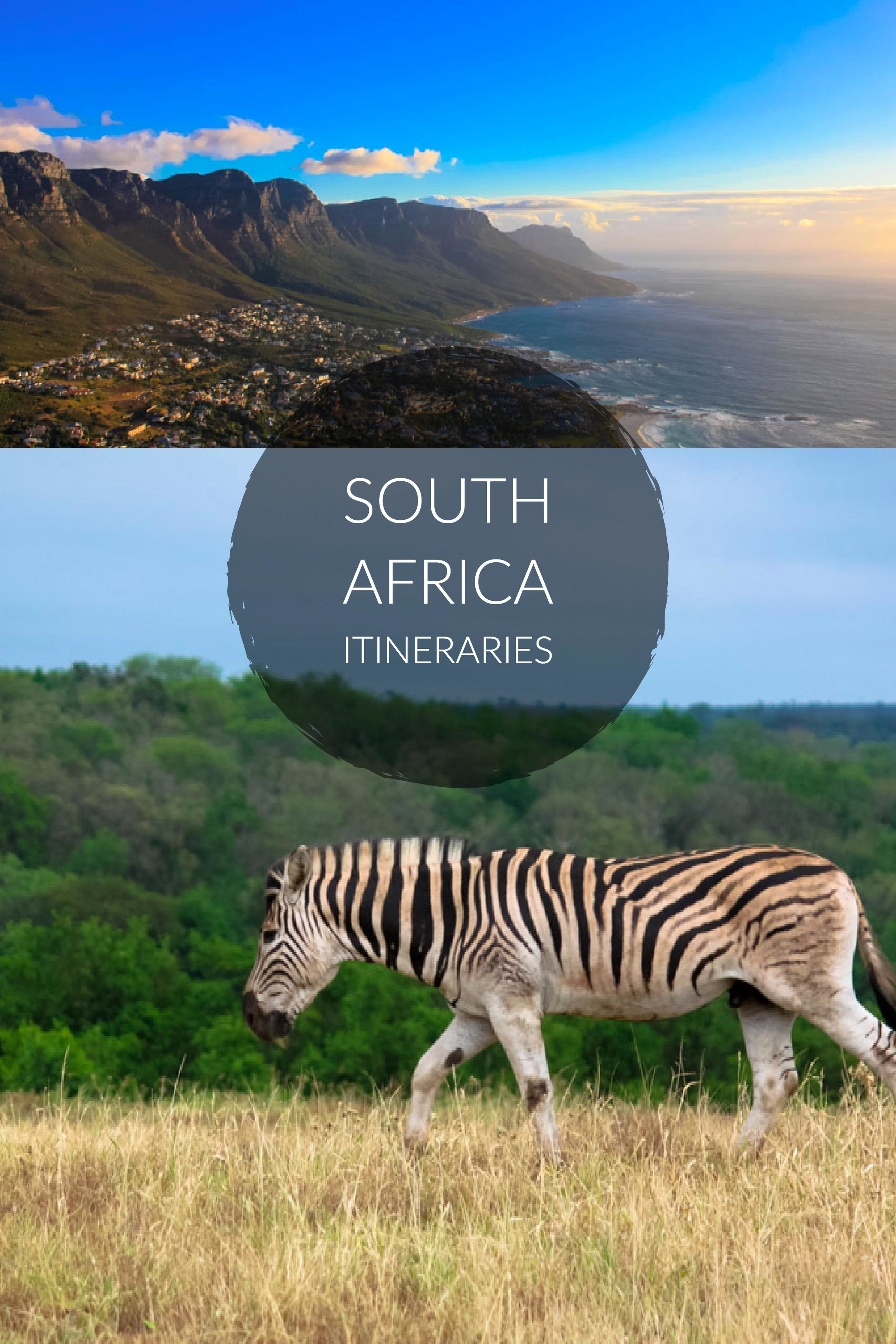 South Africa Itineraries