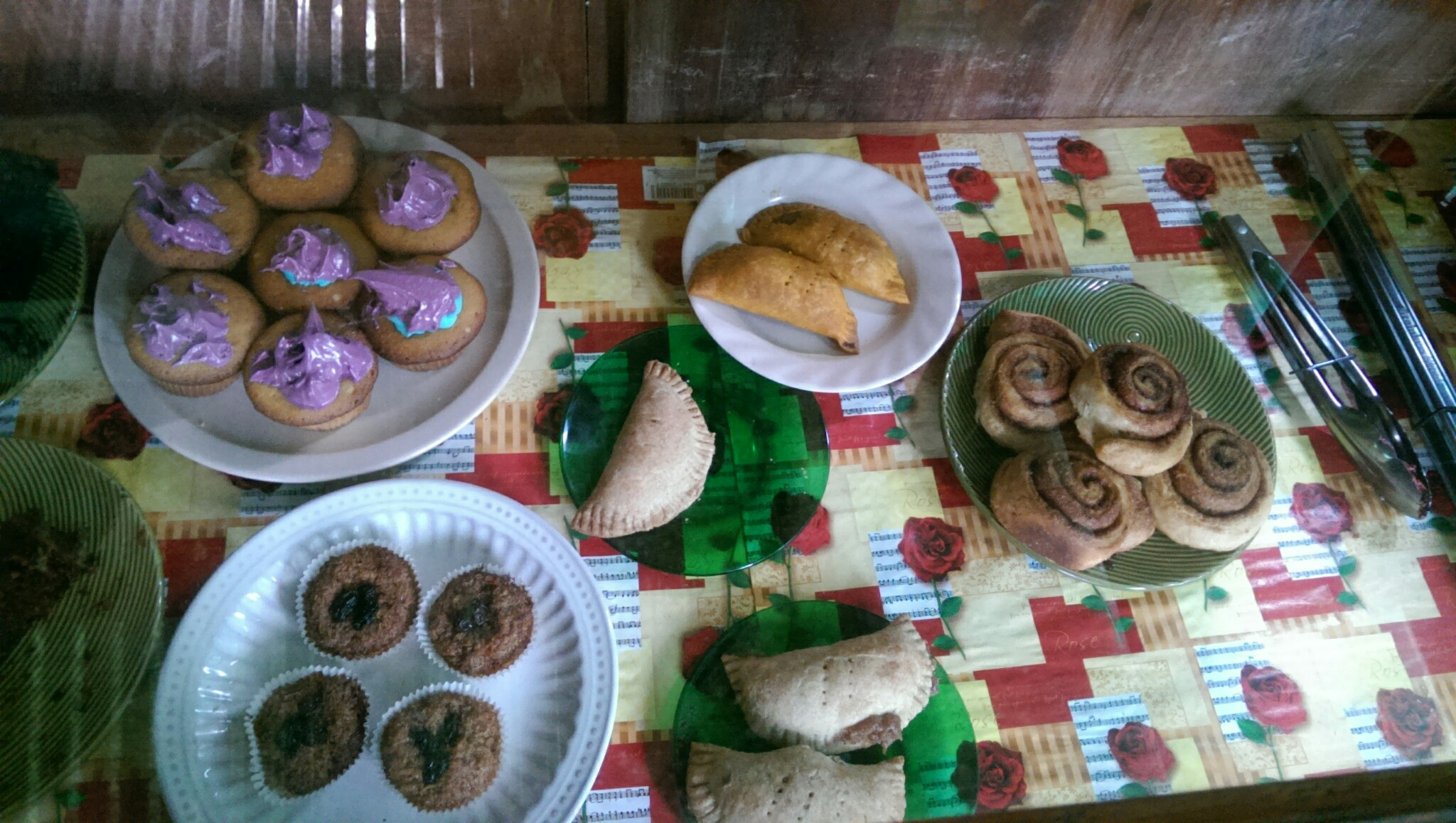 Pan De Coco and other treats from a home run bakery, Big Corn Island