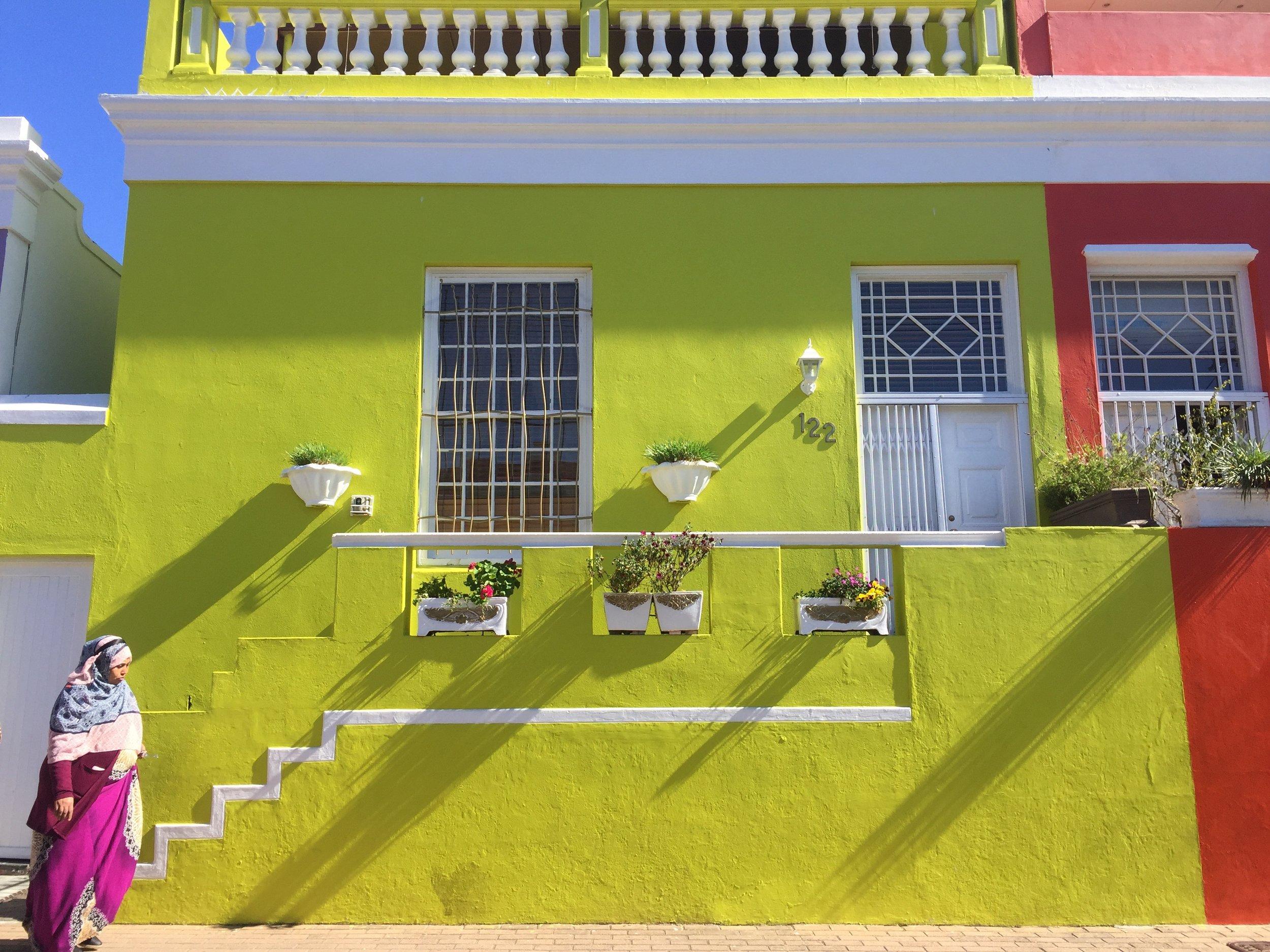 Bo Kaap home in Cape Town