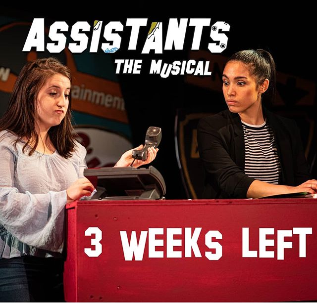 Hurry! Assistants runs for 3 more weeks! Save 50% on tickets this holiday weekend with the code DEPENDENT