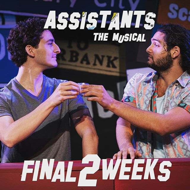 Assistants the Musical closes in 2 weeks! Use the code ANOTHERSHOT for $20 off the show that takes you behind the scenes and behind the desks of the most powerful people in Hollywood.