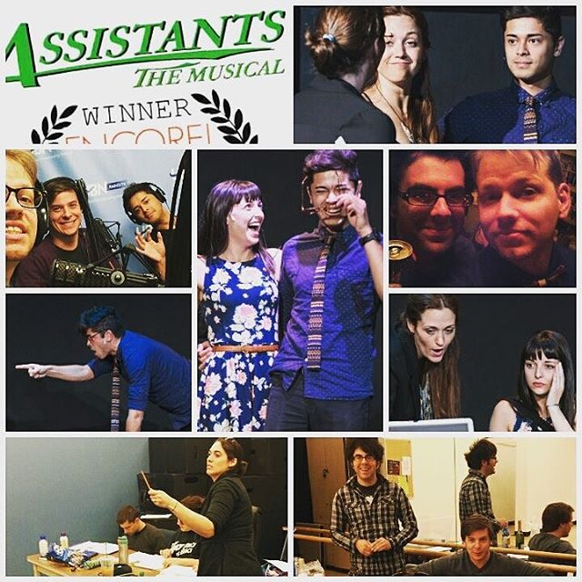 4 years ago we closed the LA production of Assistants the Musical. Next week we close the OFF-BROADWAY production. Cool. 😘 @agentmanny