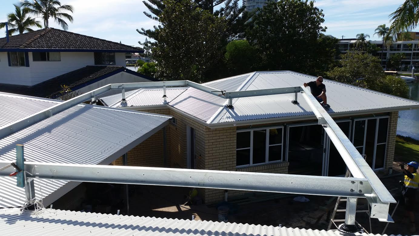 Galv. Roof Extension