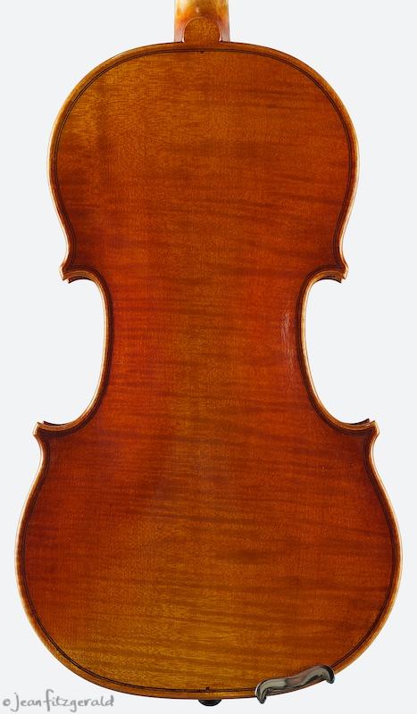 Cistello violin, Itzel Avila, 2006