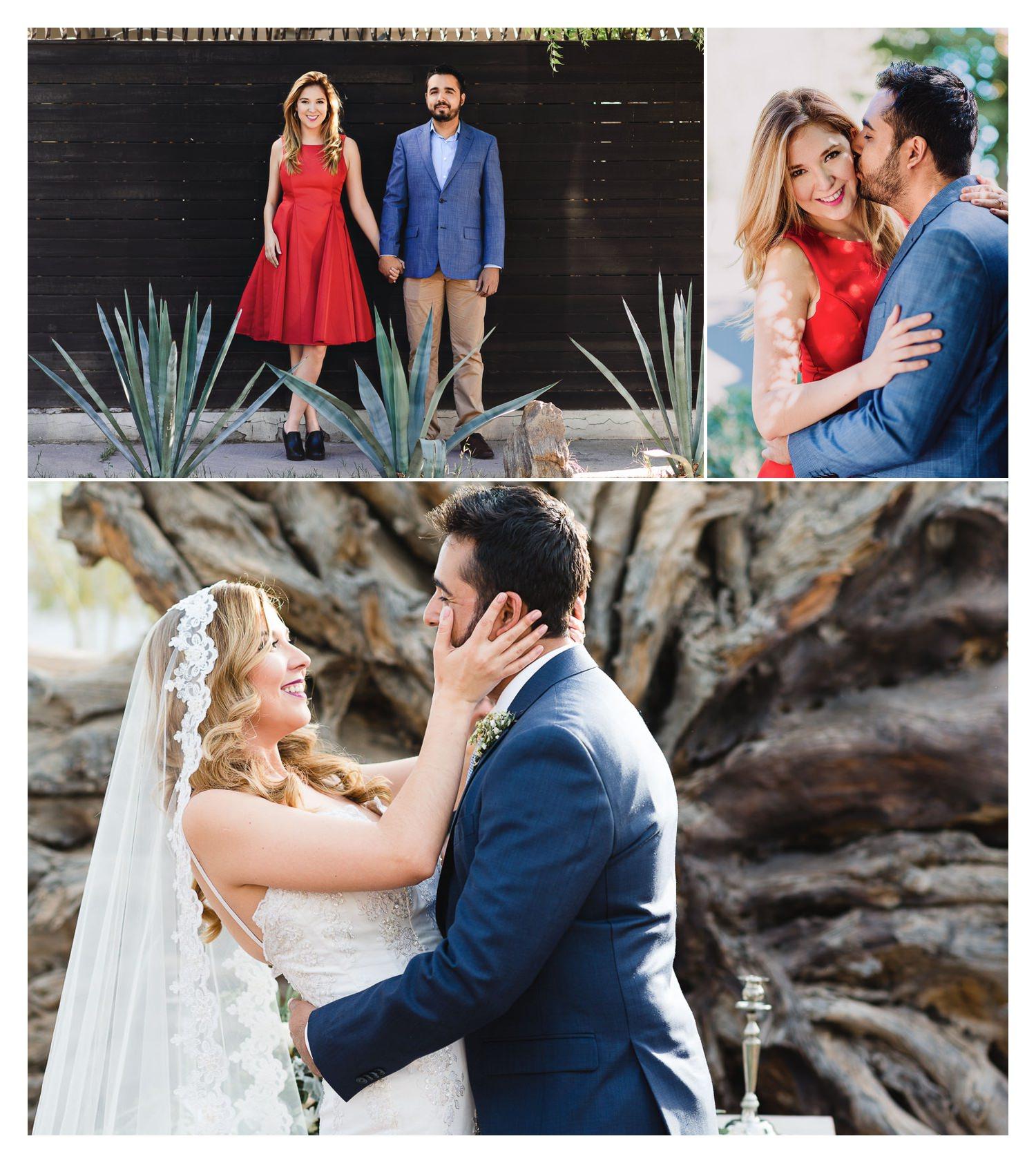 Y lo que me quitó el sueño por varias semanas, cubrir mi primer boda, que despues te platico como me fué, a esta linda pareja ya tenía el gusto de haberlos fotografiado, para que te eches una vueltita por   aquí