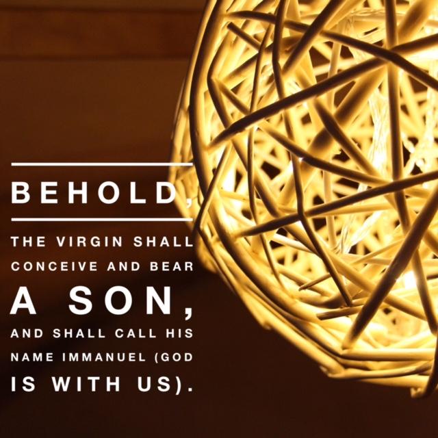 Isaiah 7:14 - The Bible (English Standard Version)