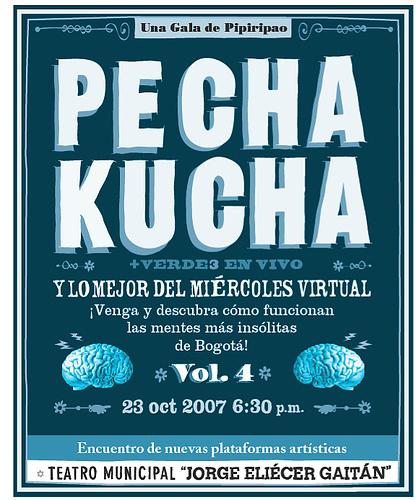 Vol. 4 en el Teatro Municipal Jorge Eliécer Gaitán.Documentación completa y créditos en el blog local .