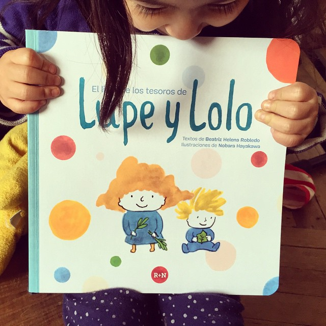 El libro de los tesoros de Lupe y Lolo
