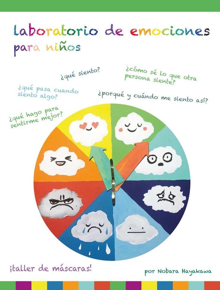"""El """"Laboratorio de Emociones"""" es un taller experimental que ofrece herramientas para que los niños identifiquen las emociones humanas básicas en ellos mismos y en los otros: al reconocer la emoción propia damos un primer paso para tener control sobre ella, y al reconocerla en otro ejercitamos la empatía. Los participantes podrán identificar las emociones desde una lectura breve y algunos referentes en la historia del arte, y luego podrán expresarlas a través de una actividad de creación de máscaras.  Niños de 7 a 12 años  Lugar: Bliblioteca del MAMBO"""