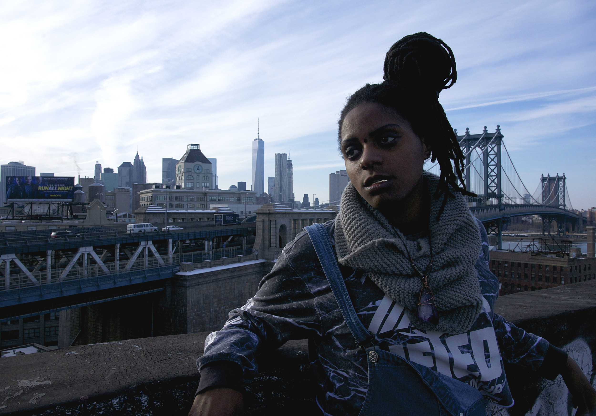 """Chelsea    Reject  is a 22-year old MC from Brooklyn, NY by way of St. Lucia. She's recently released her new album #CMPLX which features new songs with Kirk Knight, CJ Fly, Nyck Caution and more. In the past year she has performed on several tours including the Smoker's Club tour with Method Man & Redman, as well as with Mick Jenkins and Kirk Knight of Pro Era. Her new video for """"Closer"""" is out now."""