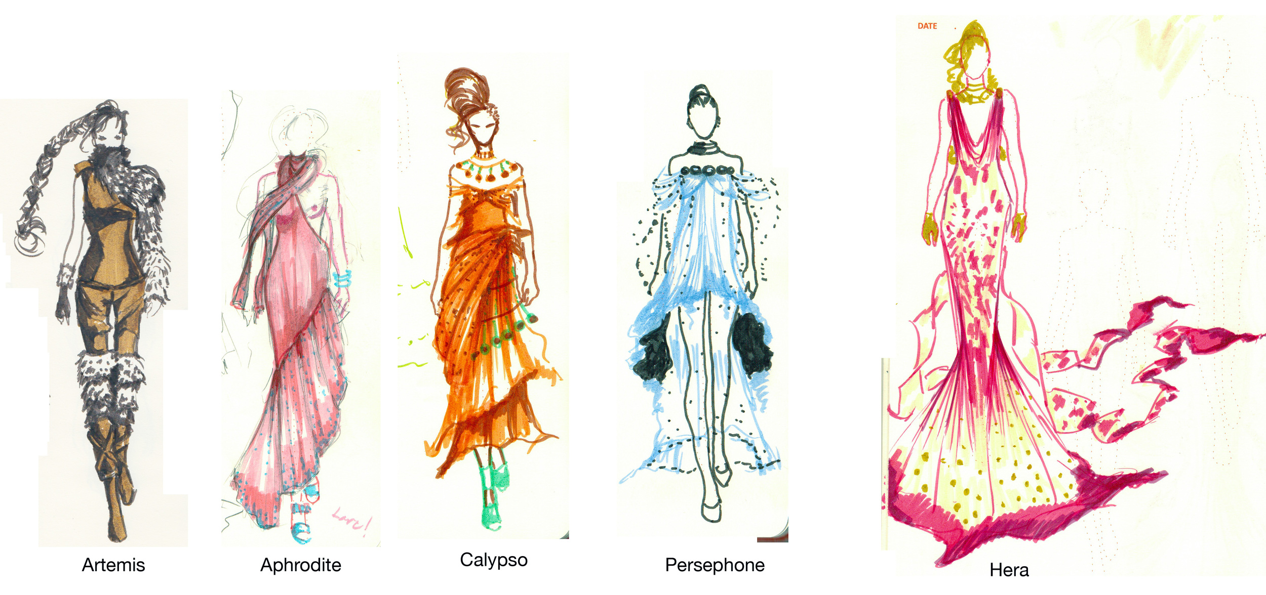 goddess costumes