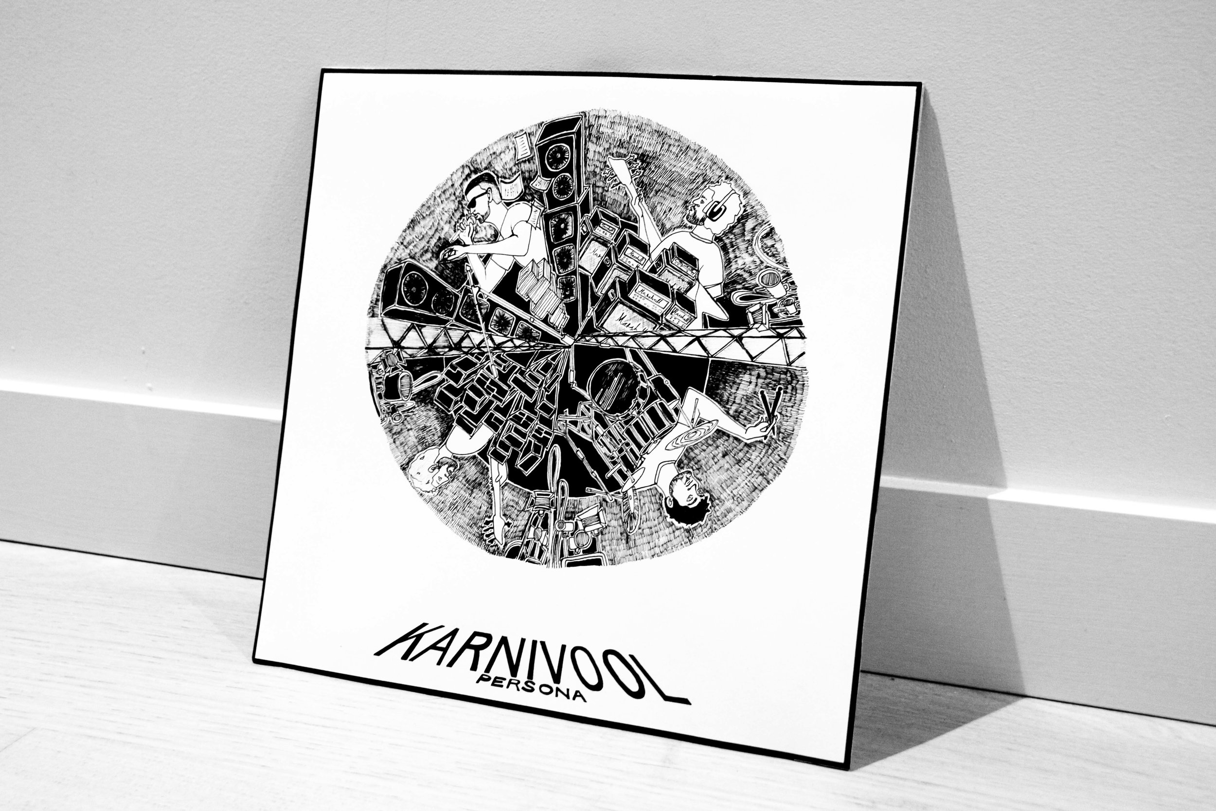 Karnivool Vinyl Sleeve Design