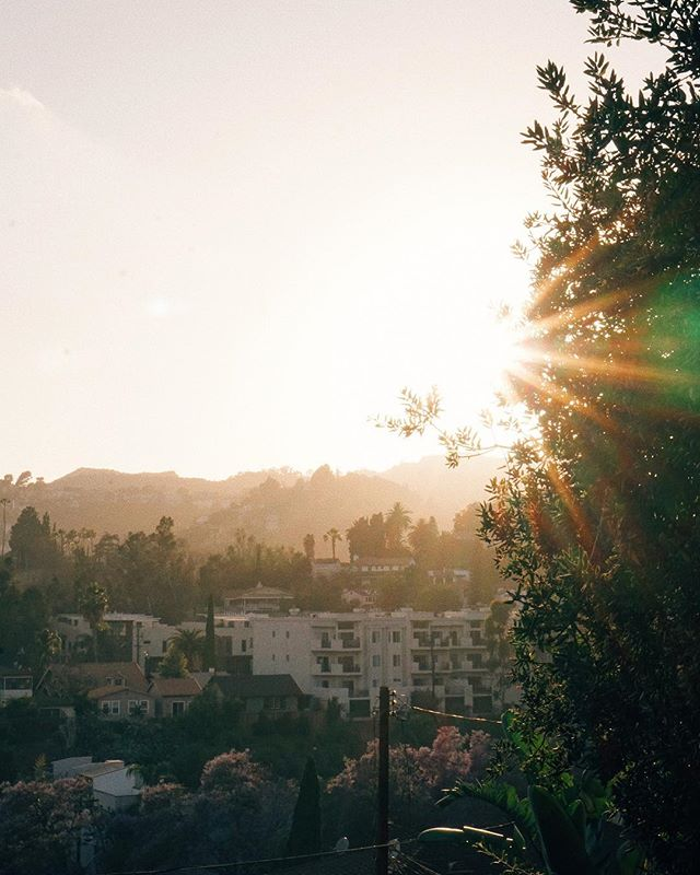 Sunset over Hollywood 🌅 . . . #hollywood #losangeles #la #vsco #sonya6300 #travel #travelfilm #filmmaker #travelphotography #film #photography #art