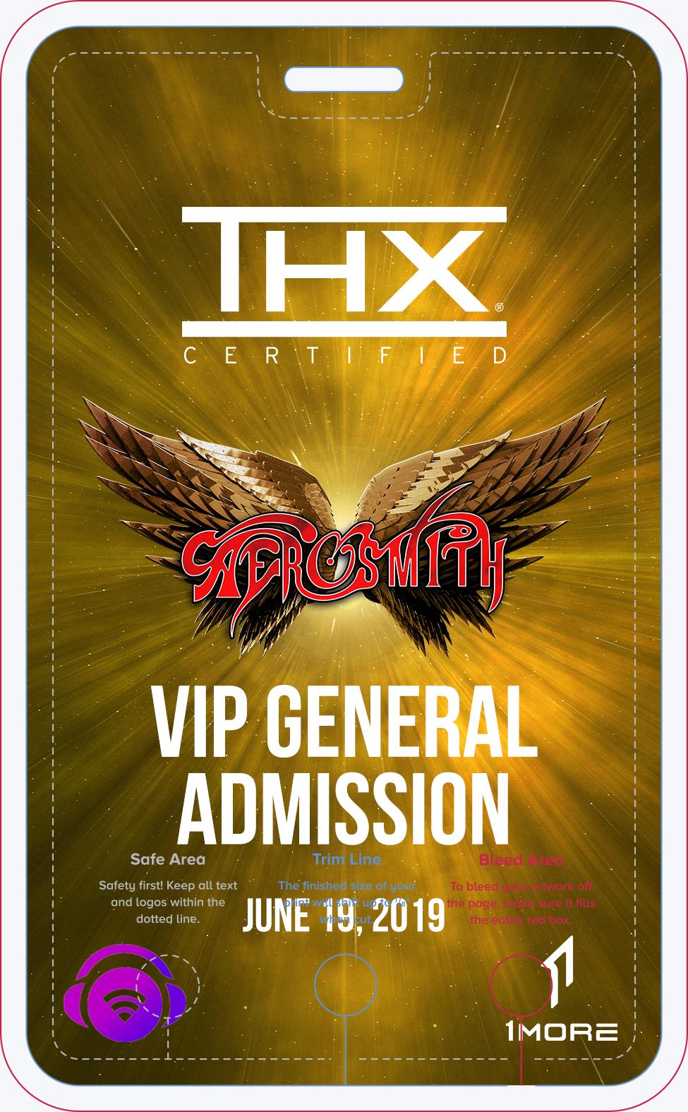 Aerosmith VIP General Admission Gold Badge.jpg