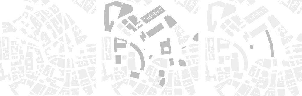 Boston City Center, 1950, 2000, 2050