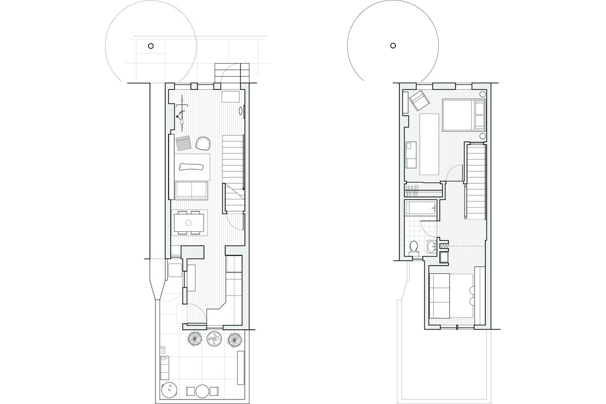 First Floor, Second Floor