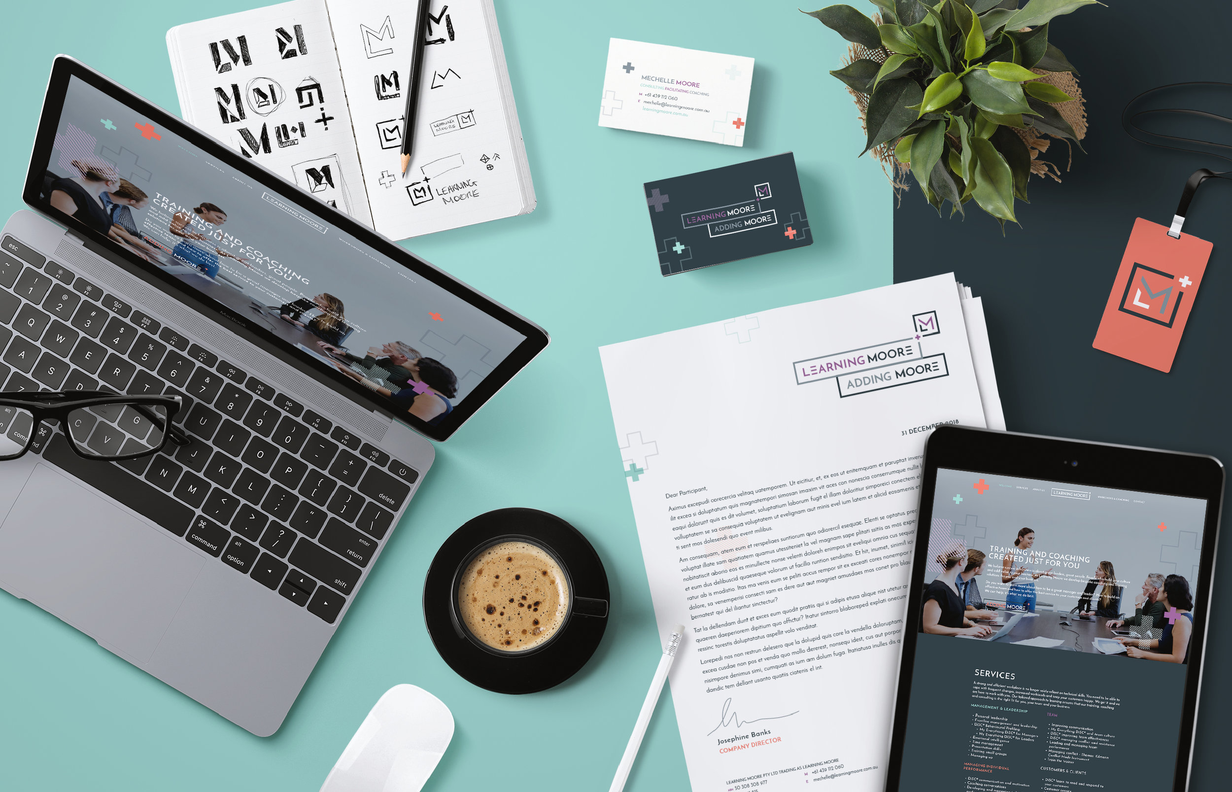 Website design for Learning Moore