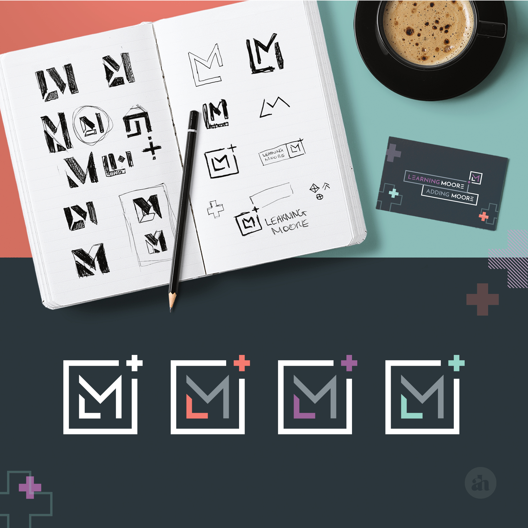 Brand Identity  | Learning Moore