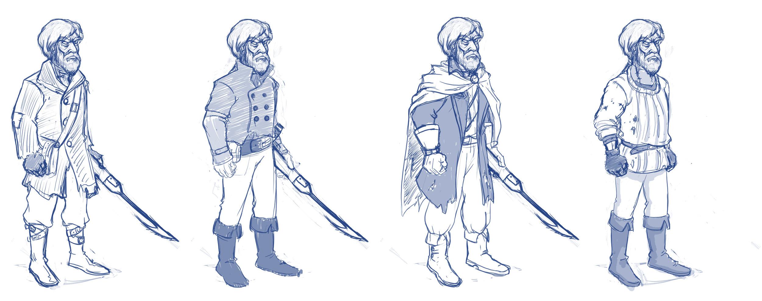Costume exploration for older Kent