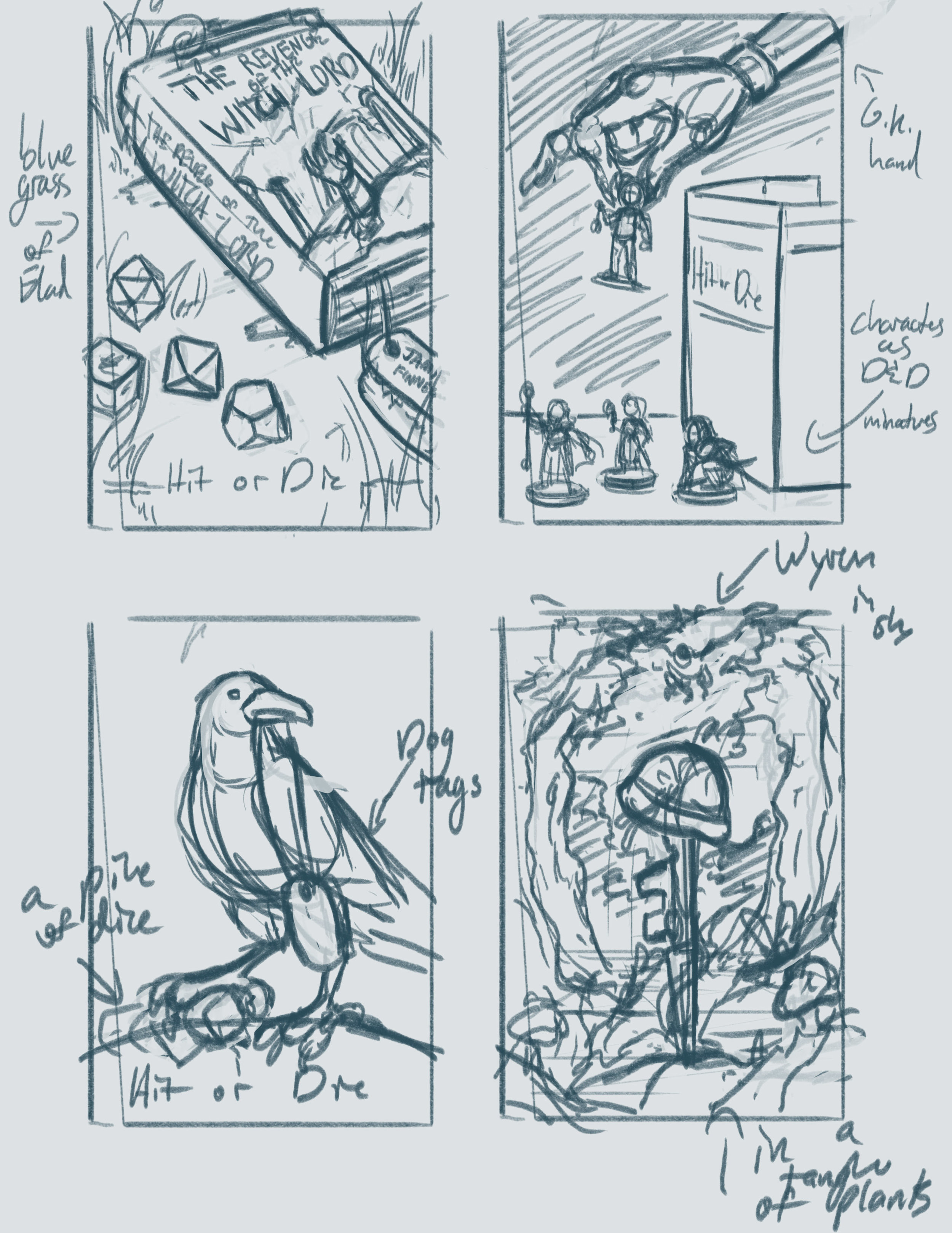 "Thumbnails for the cover to ""Hit or Die"""