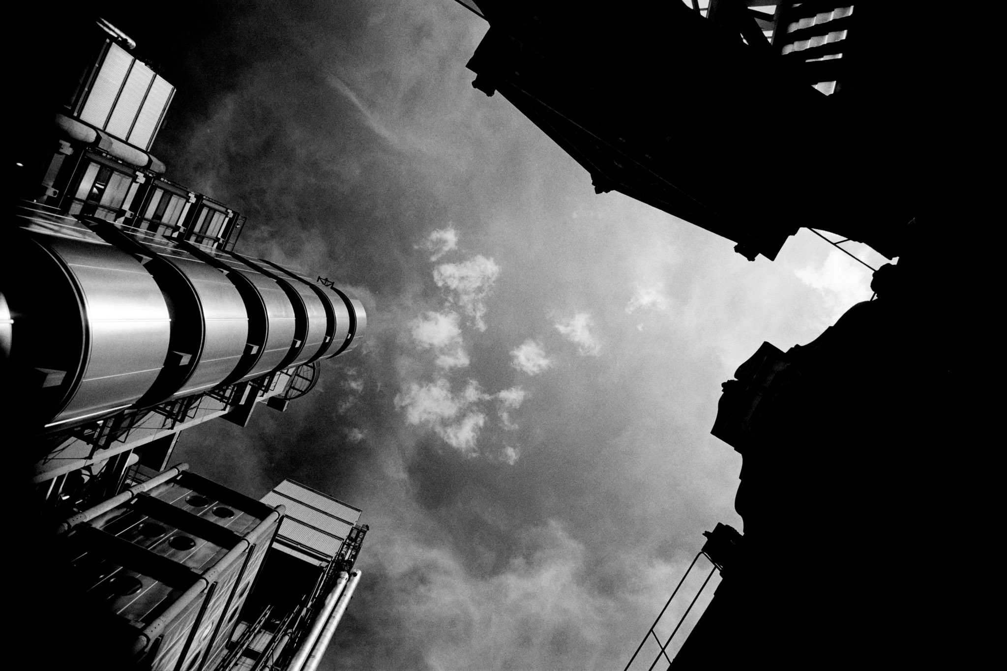 Lloyds Building with Leadenhall Market