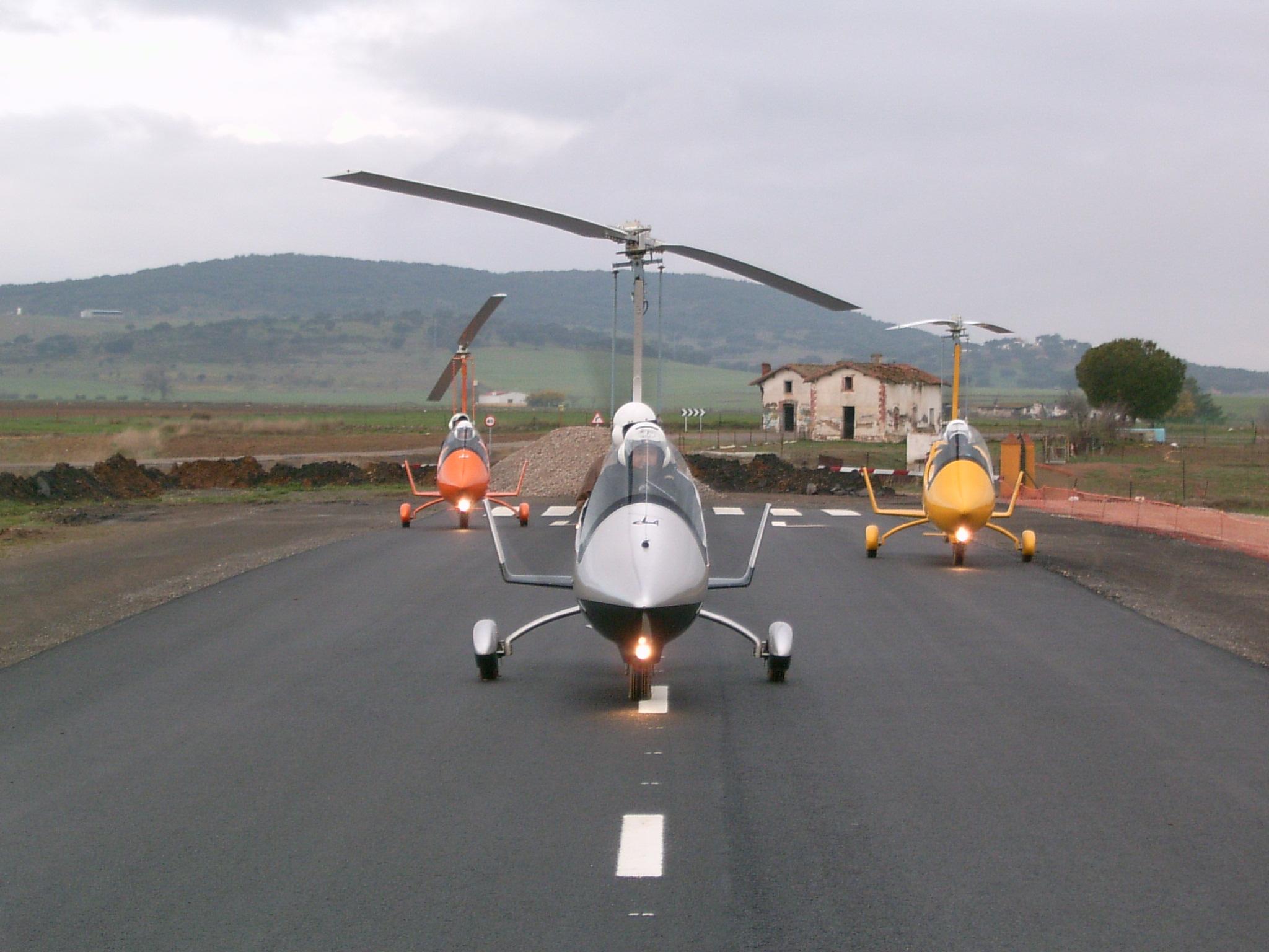 gyrocopters nice