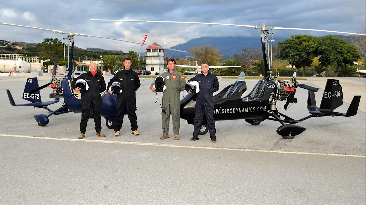 gyrocopter giro dynamics first class pilots