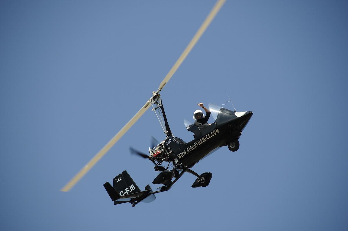 gyrocopter girodynamics air trip