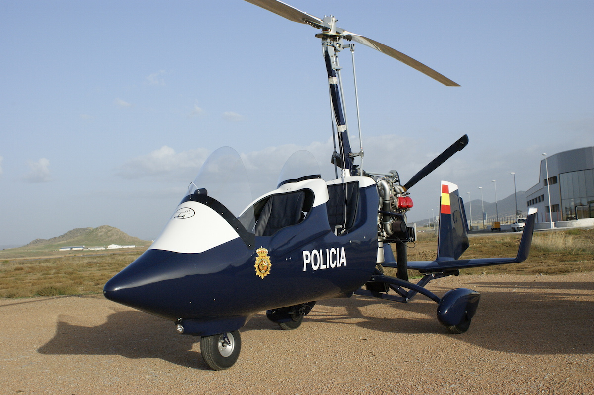 gyrocopter autogiro police equipment