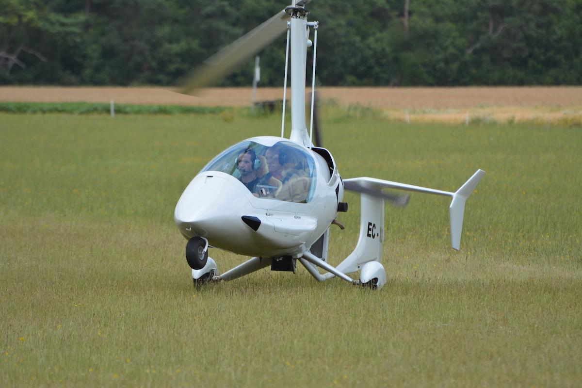 gyrocopter girodynamics ela 10 eclipse landing